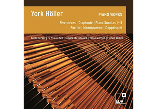 York Hoeller - Piano Works - (CD)