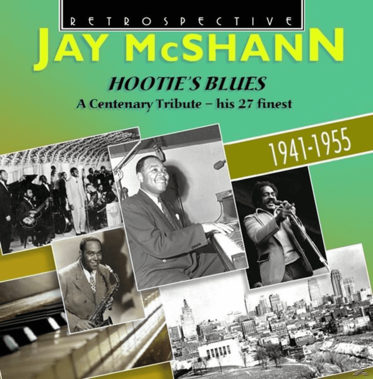 Jay McShann - Hootie´s Blues - (CD)