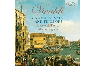 Federico L'arte Dell'arco & Guglielmo - 6 Violin Sonatas And Trios Op.5 - (CD)