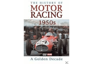 The History of Motor Racing - 1950s: a Golden Decade - (DVD)