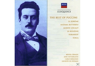 Prevedi, Bergonzi, Tebaldi - The Best Of Puccini - (CD)
