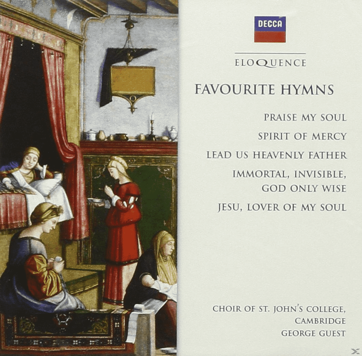 George Guest, Cambridge Choir Of St John´s College - Favourite Hymns - (CD)