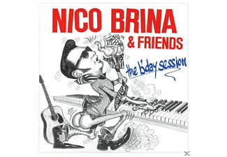 Nico Brina & Friends - The B'day Session - (CD)