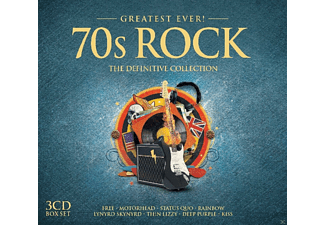 Various - 70s Rock-Greatest Ever - (CD)