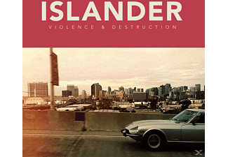 The Islander - Violence & Destruction (Ltd.White Vinyl With Down - (Vinyl)