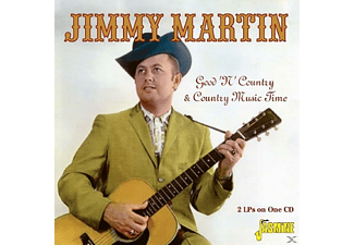 Jimmy Martin - Good 'n' Country & Country Music Time - (CD)