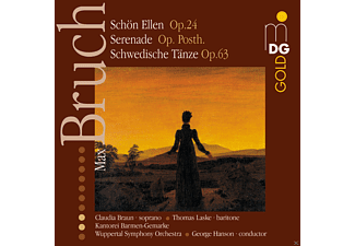 Wuppertal Symphony Orchestra - Bruch: Swedish Dances, Serenade For Strings & Schön Ellen - (CD)
