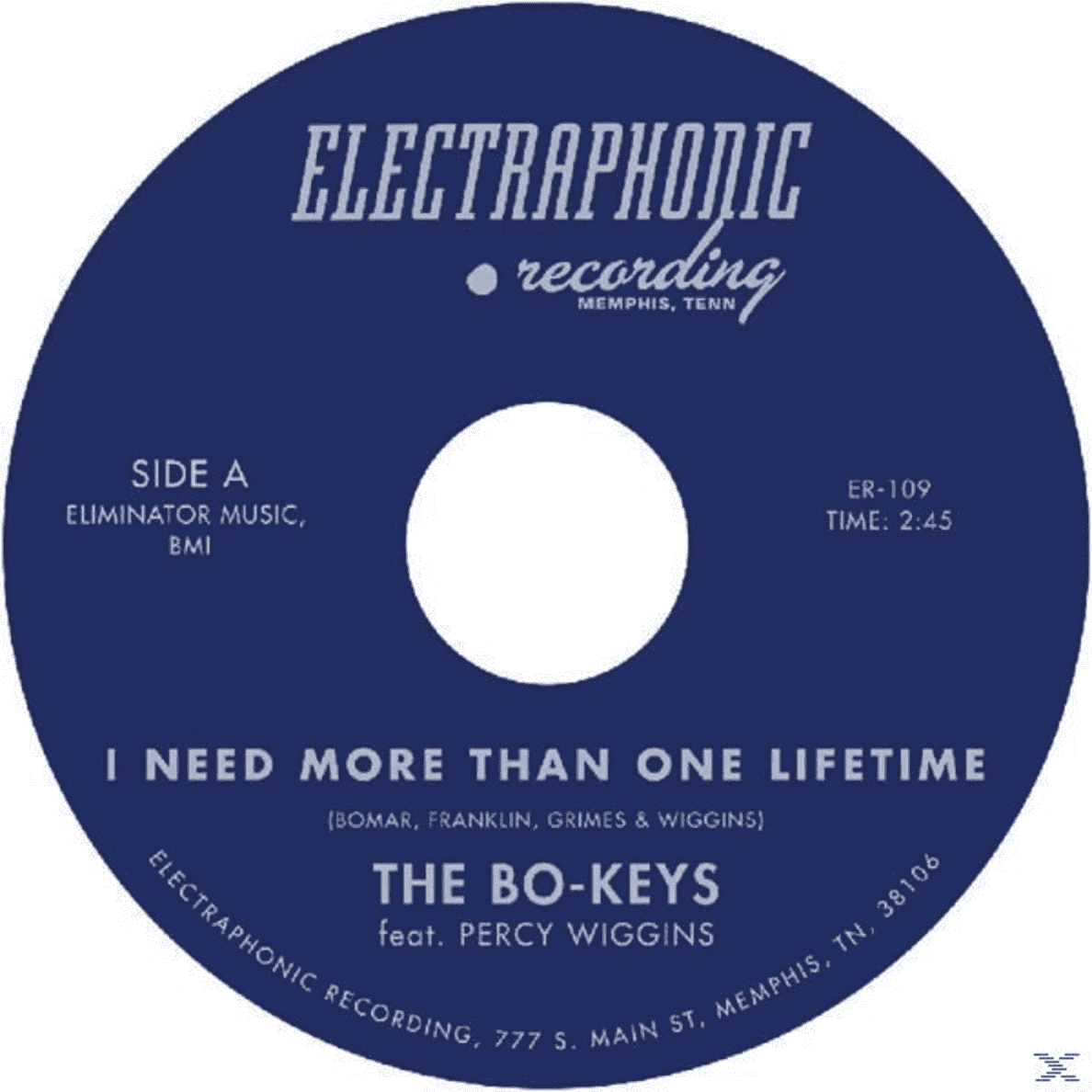 Percy Bo-keys - I Need More Than One Lifetime - (Vinyl)