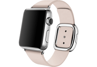 APPLE MJ572, Lederarmband, Apple, Watch (38 mm Gehäuse), Rosa