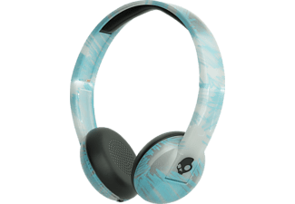 SKULLCANDY S5URJW-547, Over-ear Kopfhörer, Headsetfunktion, Bluetooth, Clear/Scribble