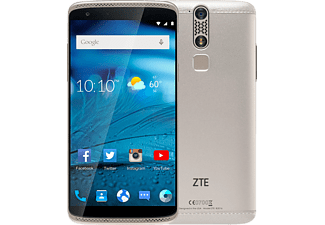 "Móvil - ZTE Axon Mini, 32GB, 4G, Pantalla 5.2"" FHD, Dual Sim, 8N, Force Touch, Oro"