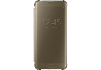 SAMSUNG Clear View Cover Galaxy S7 edge Gold (EF-ZG935CFEGWW)