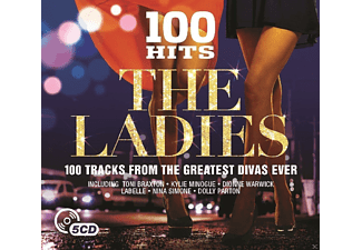 VARIOUS - 100 Hits-Ladies [CD]