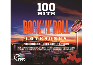 VARIOUS - 100 Hits Rock N' Roll-Love Songs [CD]