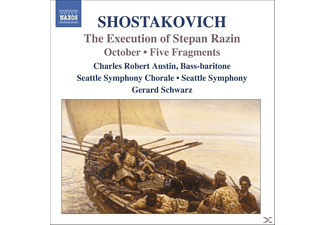 VARIOUS, Schwarz/Austin/Seattle SO - Execution Of Stepan Razin - (CD)