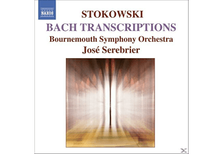 VARIOUS, Serebrier/Bournemouth Sym.Orch - BACH TRANSkRIPTIONEN - (CD)