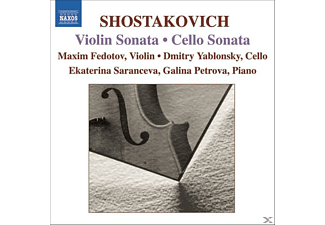 VARIOUS, Saranceva/Petrova - Violin Sonaten/Cello Sonaten - (CD)