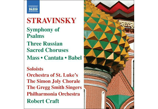 The Simon Joly Choir, Craft Robert - Psalmensinfonie - (CD)