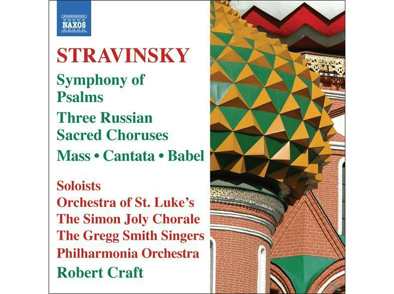 The Simon Joly Choir, Craft Robert - Psalmensinfonie [CD]