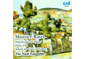 Nash Ensemble - Introduction &Allegro/Piano Trio/Sonata For Violin - (CD)