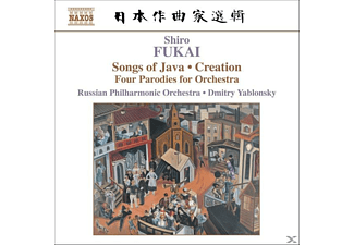 Russian Philharmonic Orchestra, Dmitry Yablonsky Russian Philharmonic Orchestra - Songs Of Java/Creation - (CD)