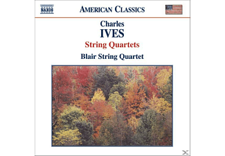 The Blair Quartet, Blaier String Quartet - Streichquartett 1+2 - (CD)