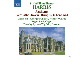 CHOIR OF ST.GEORGES CHAPEL WINDSOR, Byram-Wigfield/Judd/+ - Anthems/Faire Is The Heav'n/+ - (CD)