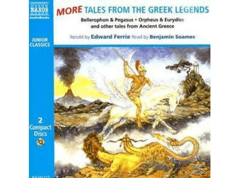 MORE TALES FROM THE GREEK LEGENDS - (CD)