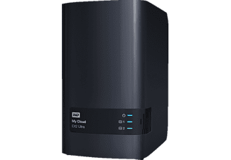 WD My Cloud™ EX2 Ultra, 4 TB, Anthrazit, 3.5 Zoll