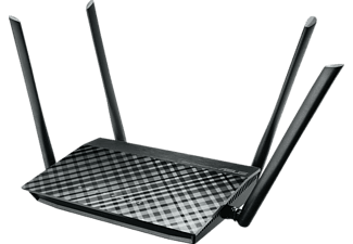 Router inalámbrico - Asus RT-AC1200G+, Dual-Band, 1167 Mbps
