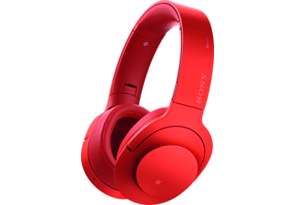 SONY Casque audio sans fil h.ear on Wireless NC Cinnabar Red (MDR100ABNR.CE7)