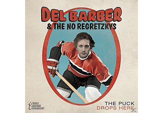 Del Barber & The No Regretzkys - The Puck Drops Here [CD]