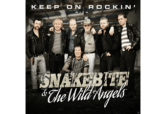 Snakebite, Wild Angels - Keep On Rockin' With... - (CD)