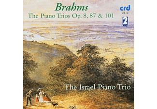 The Israel Piano Trio - Brahms.piano Trios op.8+87+101 - (CD)