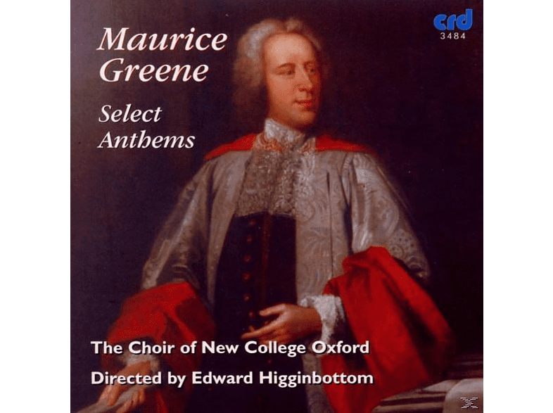 Edward/choir Of New College Oxford Higginbottom - Select Anthems [CD]
