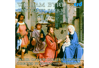 Edward/choir Of New College Oxford Higginbottom - Byrd:Cantiones Sacrae - (CD)