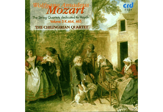 The Chilingirian Quartet - Mozart:Die Haydnquartette Vol.3 - (CD)