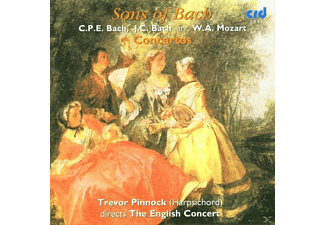 PINNOCK/ENGLISHCONCERT, The English Concert - Trevor Pinnock - Sons Of Bach/Pinnock - (CD)