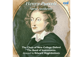 Edward/choir Of New College Oxford Higginbottom - Purcell:Verse Anthems - (CD)