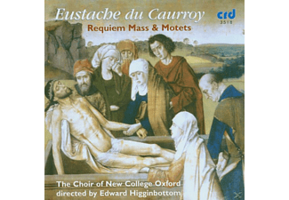 Edward/choir Of New College Oxford Higginbottom - Requiem Mass & Motets - (CD)