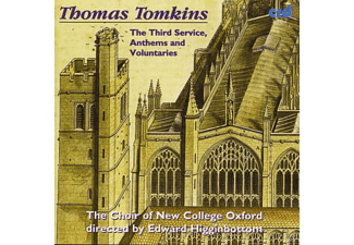 Edward/choir Of New College Oxford Higginbottom - Tomkins:Third Service,Anthems - (CD)