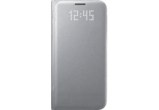 SAMSUNG LED View Cover Galaxy S7 Edge Silver - (EF-NG935PSEGWW)