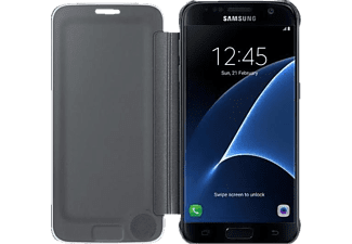 SAMSUNG Clear View cover Galaxy S7 Black - (EF-ZG930CBEGWW)