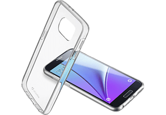CELLULAR LINE Schutzhülle Clear Duo für Samsung Galaxy S7, transparent (CLEARDUOGALS7T)