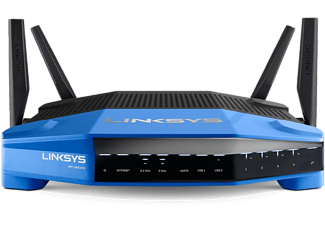 LINKSYS Dual-Band Wi-Fi Router met supersnelle 1.6 GHz-processor (WRT1900ACS-EU)