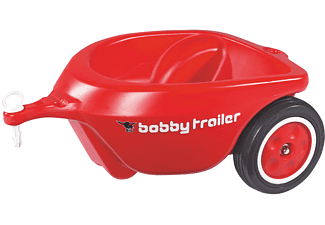 BIG New-Bobby-Car-Trailer , Rot