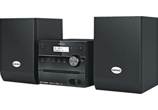 lenco mc 148 dab cd microsystem mit pll fm tuner und. Black Bedroom Furniture Sets. Home Design Ideas