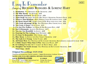 VARIOUS - Easy To Remember [CD]