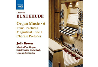 Julia Brown - Orgelmusik Vol.6 - (CD)