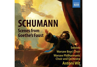 VARIOUS, Wit Antoni, Warschau Philharmonic Choir And Orchestra, Antoni/warschau Po Wit - Szenen Aus Goethes Faust - (CD)